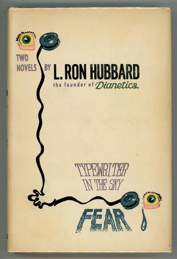 Typewriter in the Sky and Fear by L. Ron Hubbard 1st Edition