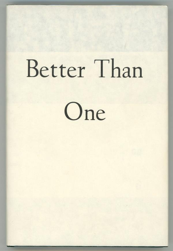 Better Than One by Damon Knight (First Edition)- High Grade