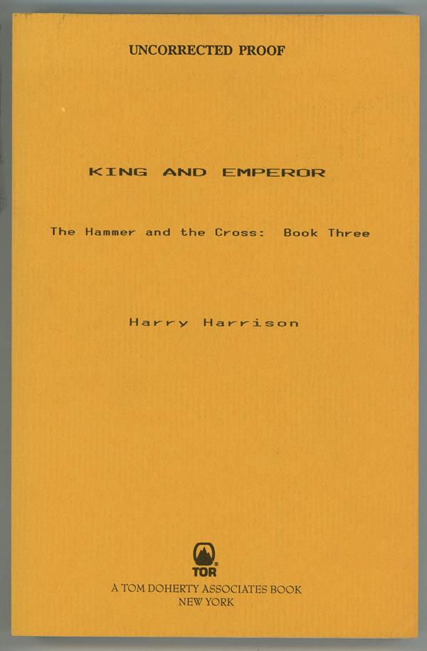 King and Emperor by Harry Harrison (Proof)