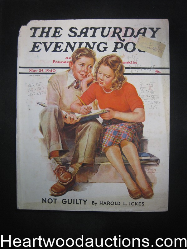 Saturday Evening Post May 25, 1940