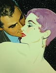 Limited Edition Print NYC Pulp Artist Ernest Chiriacka - Whispers at Night  20