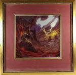 Original Signed Limited Framed Giclee Print 45/150 by Michael Whelan - Lord of the Rings